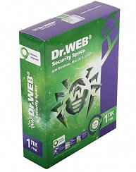 Dr.Web Security Space 1 ПК/ 1 год