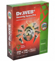 Dr.Web Security Space 2ПК/ 1 год