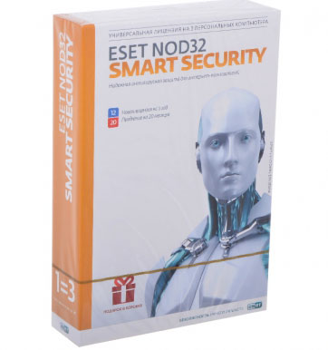 ESET NOD32 Smart Security — лицензия на 1 год на 3ПК
